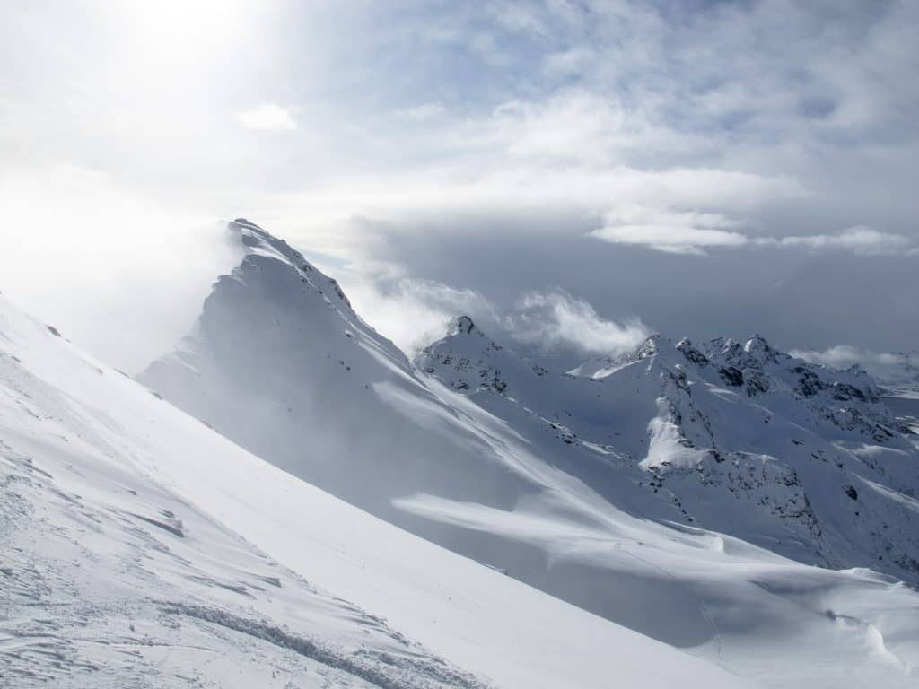 Snow Plume © Ragnar Ekker, The Norwegian Avalanche Warning Service | EAWS