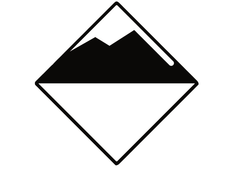 Icon Avalanche Danger Level No Rating | EAWS European Avalanche Warning Services