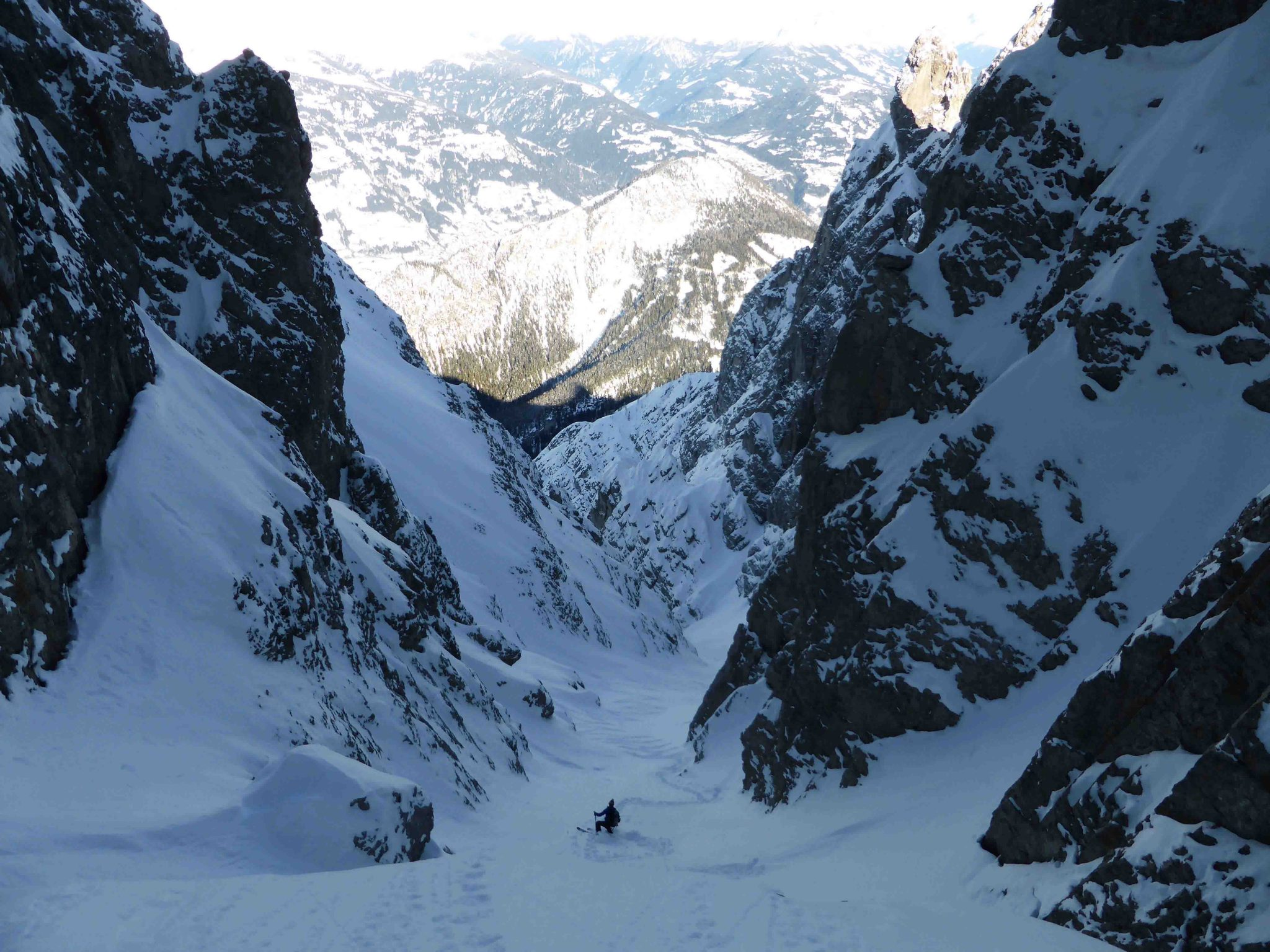 Glossary Couloir © Thomas Mariacher | EAWS European Avalanche Warning Services
