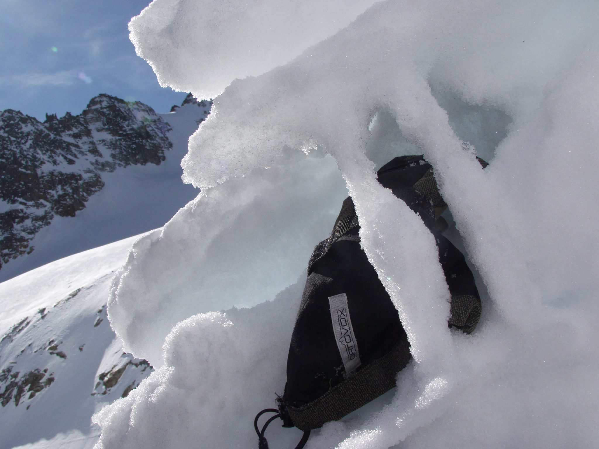 Glossary increasing firmness © LWD Tirol | EAWS European Avalanche Warning Services