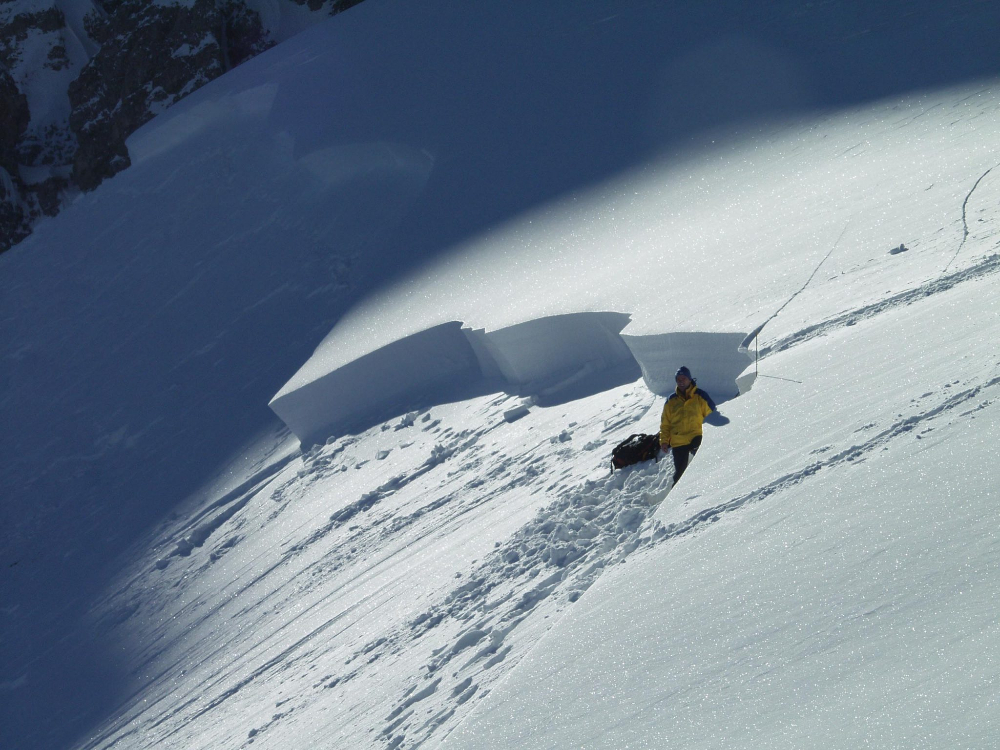 Glossary Slab Avalanche © LWD Tirol | EAWS European Avalanche Warning Services