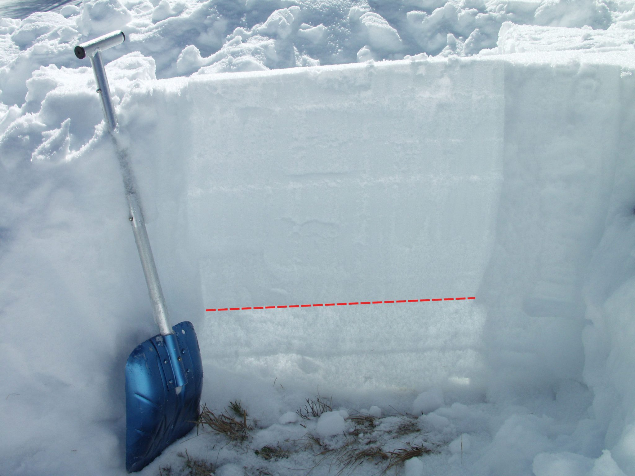 Glossary Snow Base, fundament © LWD Tirol | EAWS European Avalanche Warning Services