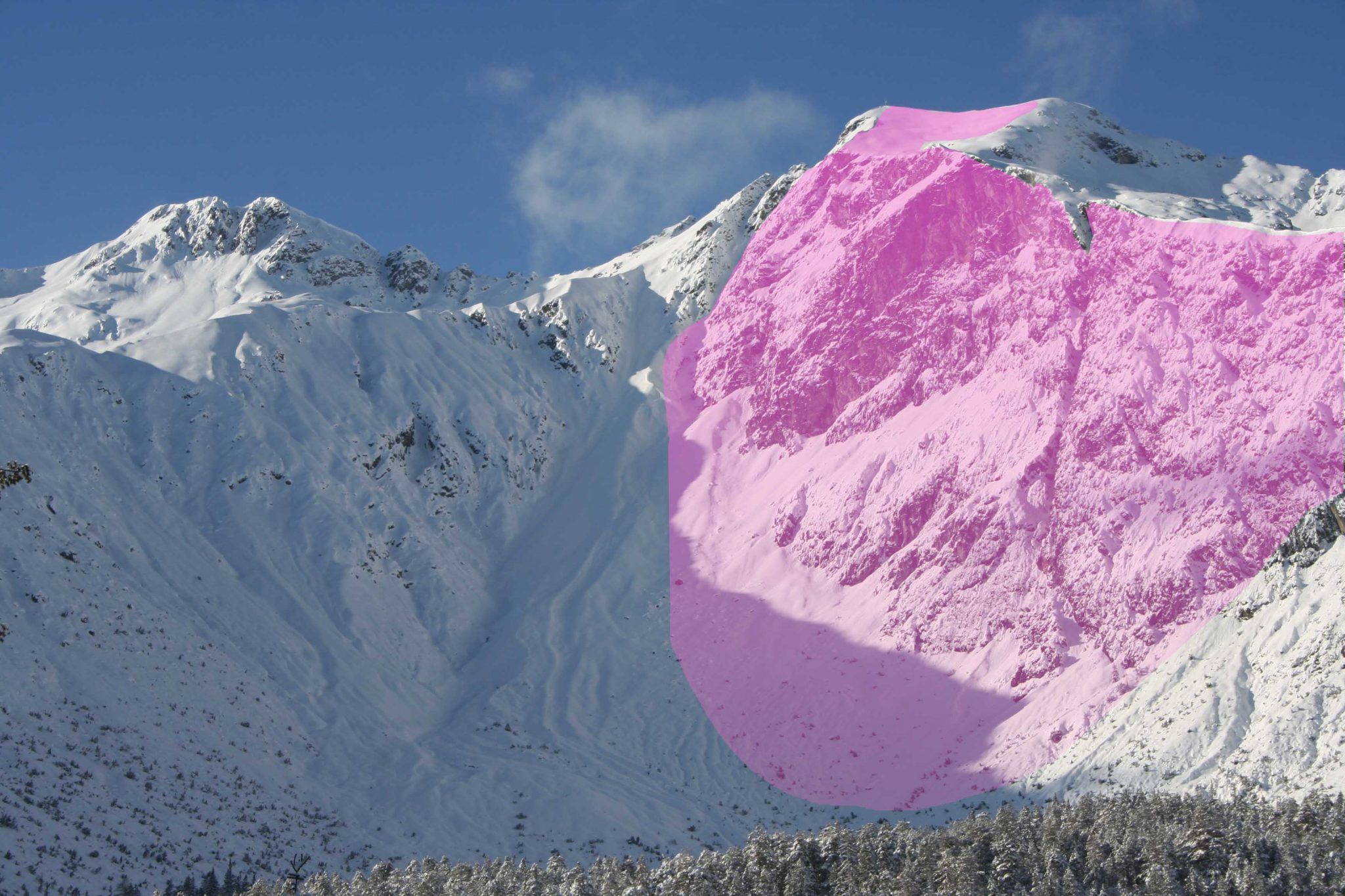 Glossary Sunny Slope © LWD Tirol | EAWS European Avalanche Warning Services