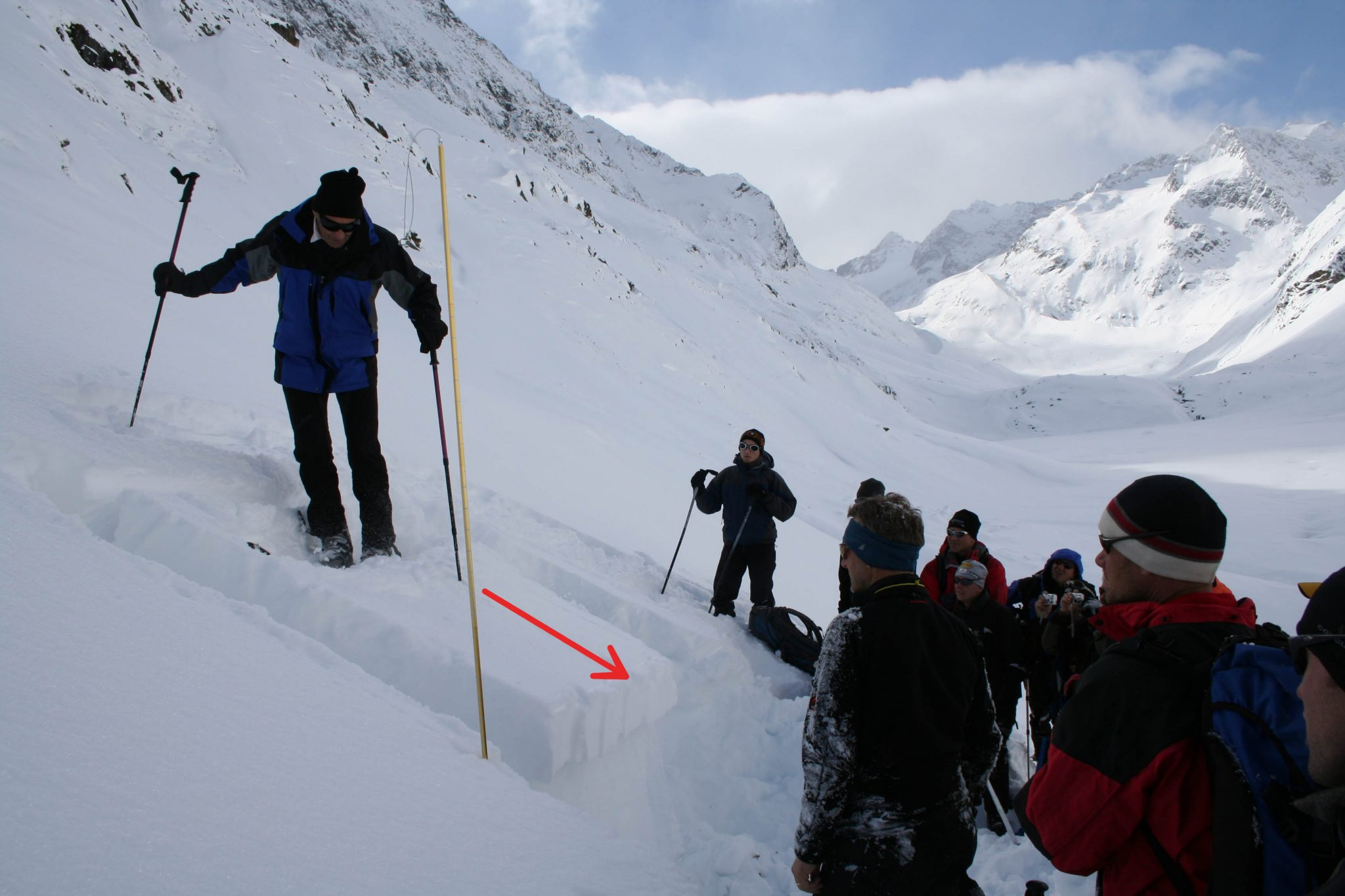Glossary Prone to Triggering © LWD Tirol | EAWS European Avalanche Warning Services