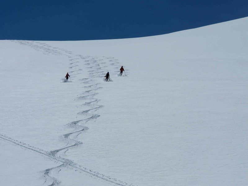 Glossary Additional Load, high additional load: three skiers without spacing © LWD Tirol | EAWS European Avalanche Warning Services