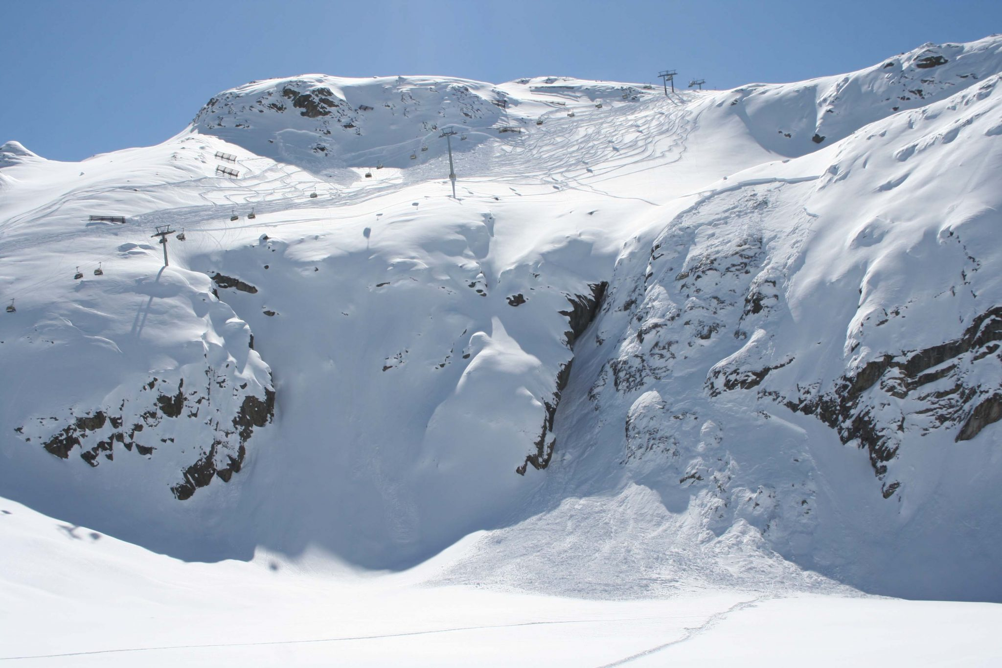 Glossary Avalanche Size, size 2: medium avalanche © LWD Tirol | EAWS European Avalanche Warning Services